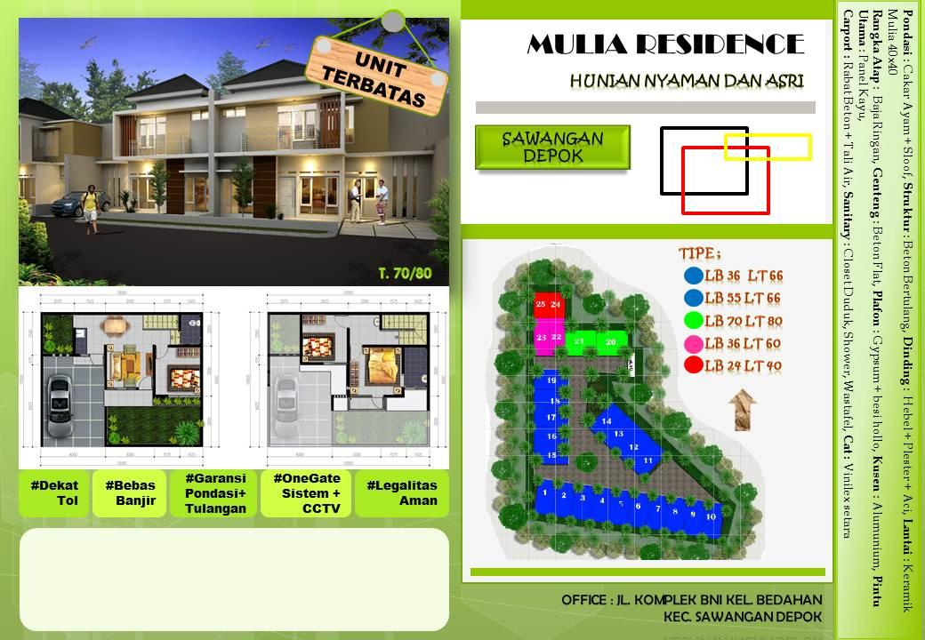 Mulia Residence - Bedahan Sawangan Depok