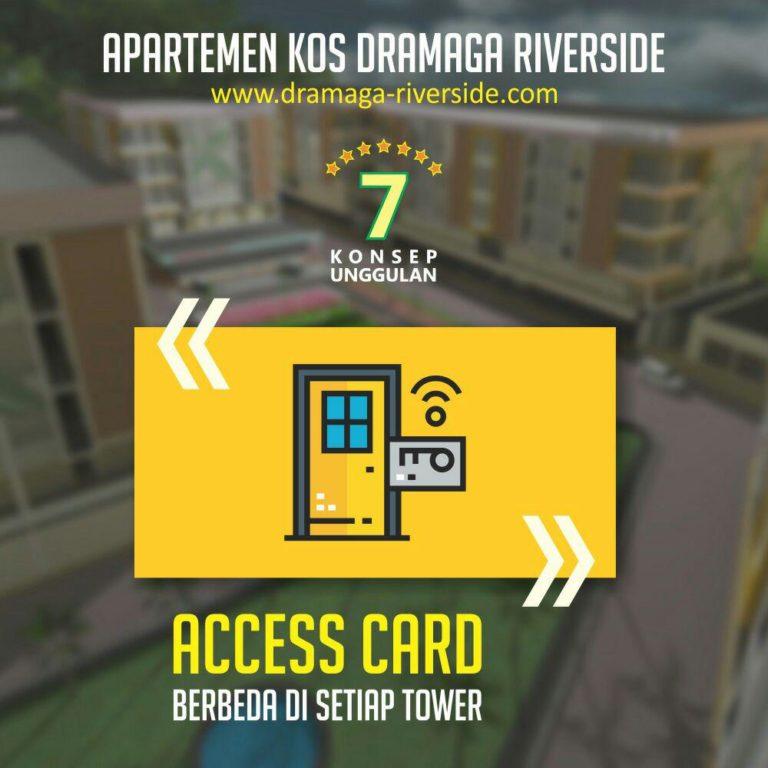 Apartemen Kost Dramaga Riverside 1