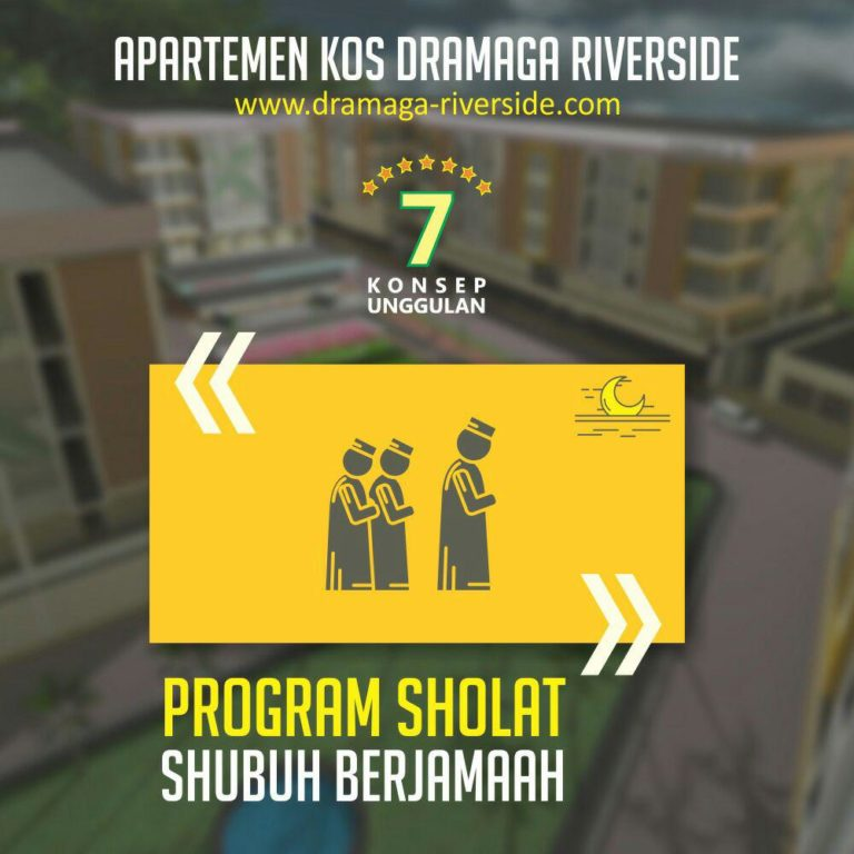 Apartemen Kost Dramaga Riverside 4