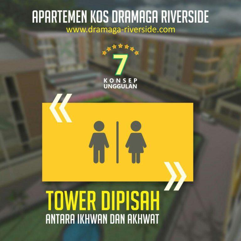 Apartemen Kost Dramaga Riverside 6
