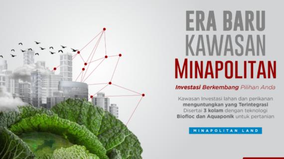 Minapolitan Land – Investasi Lahan dengan Teknologi Bioflok & Aquaponik