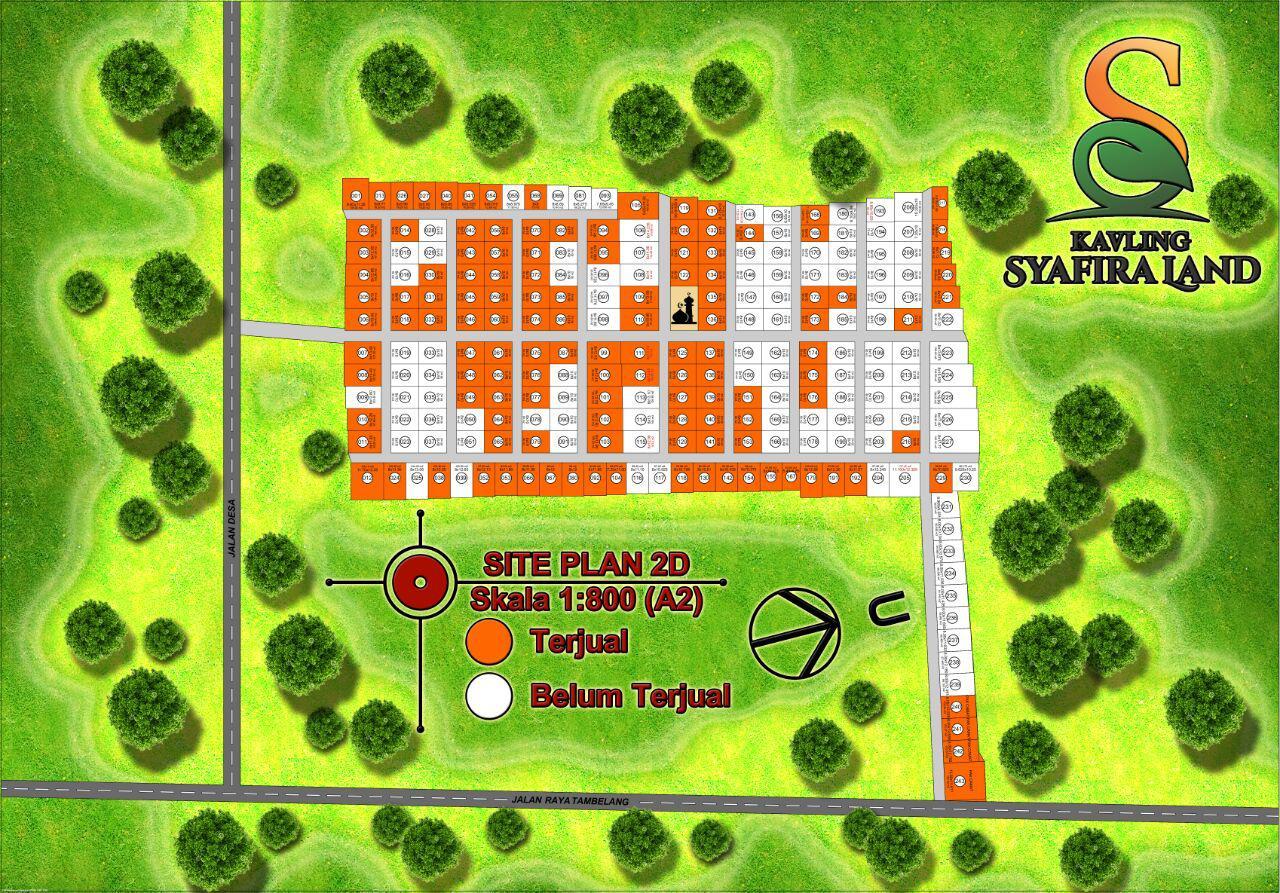 siteplan syafira land