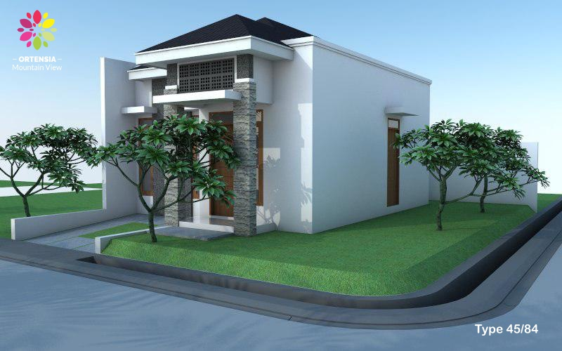 rumah type 45ortensia mountain view