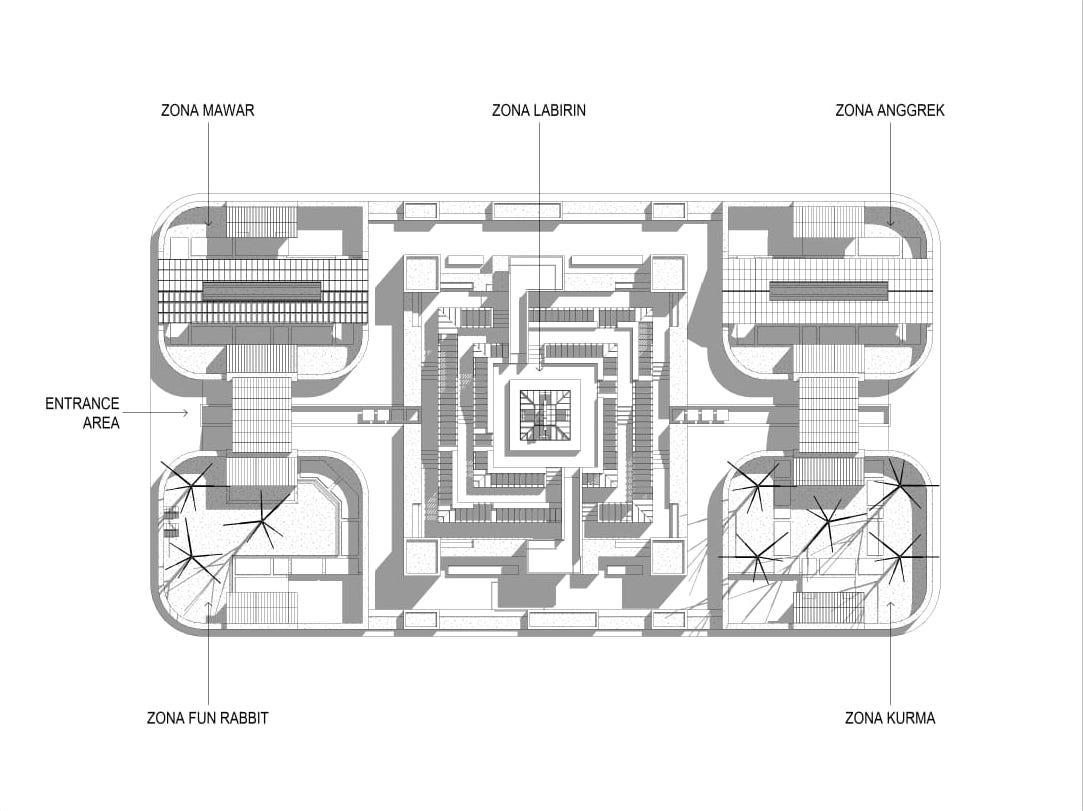 siteplan Taman Bunga