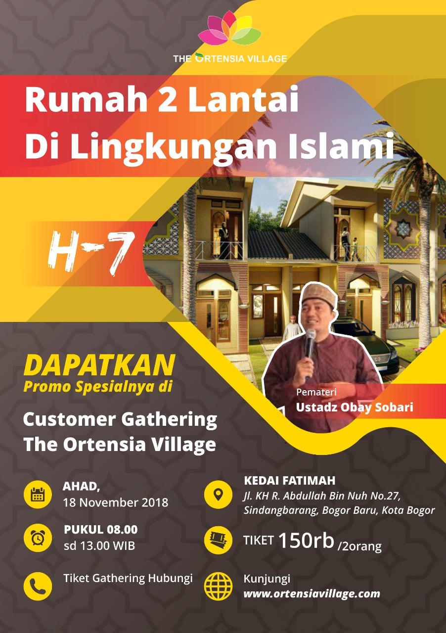 customer gathering perumahan syariah
