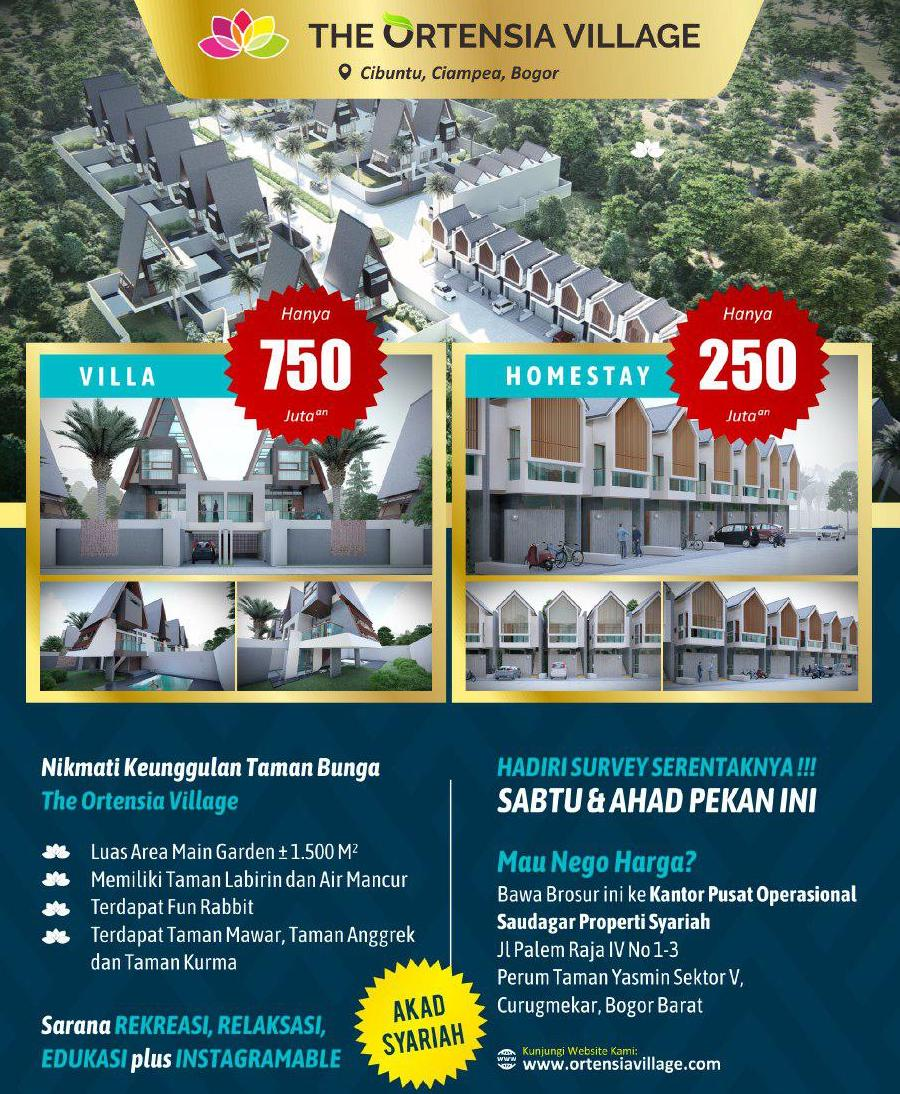 contoh investasi property villa dan homestay