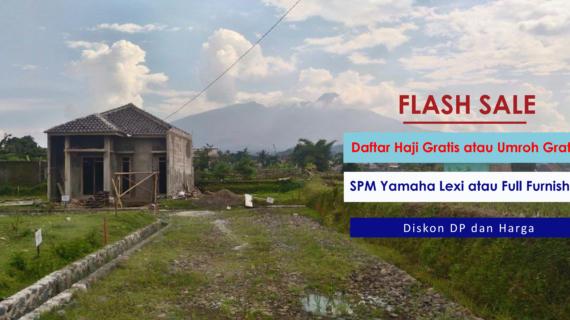 Flash Sale Ortensia Mountain View – Cluster Syariah di Ciomas Bogor