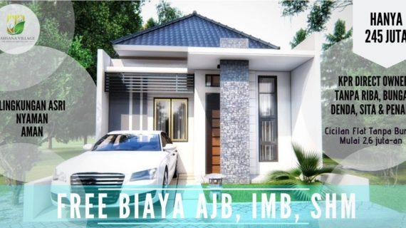 D'Ahsana Village – Cluster Syariah di Cifor Kota Bogor