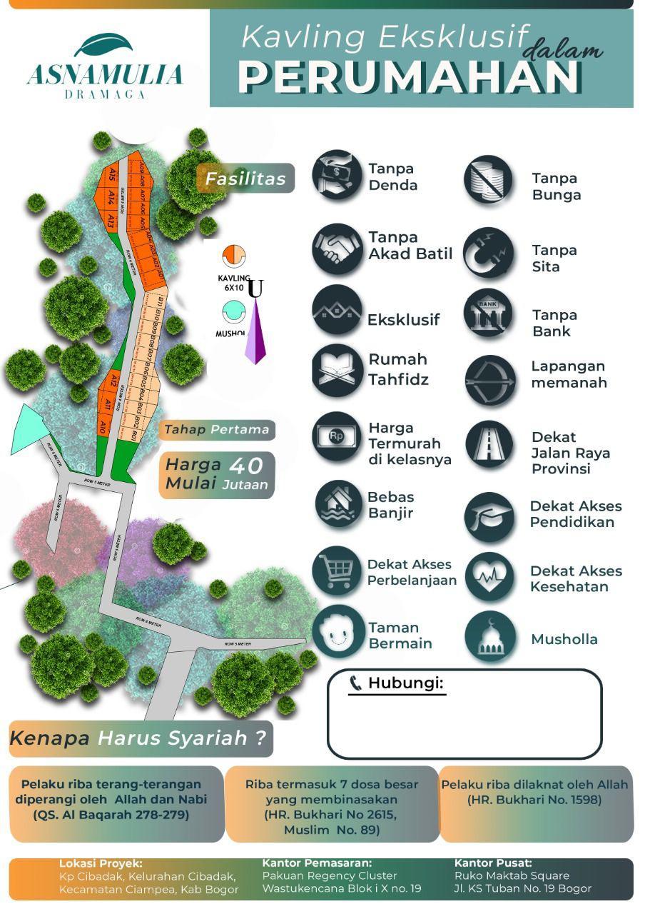 Rumah Syariah Bogor - Asna Mulia Dramaga 2