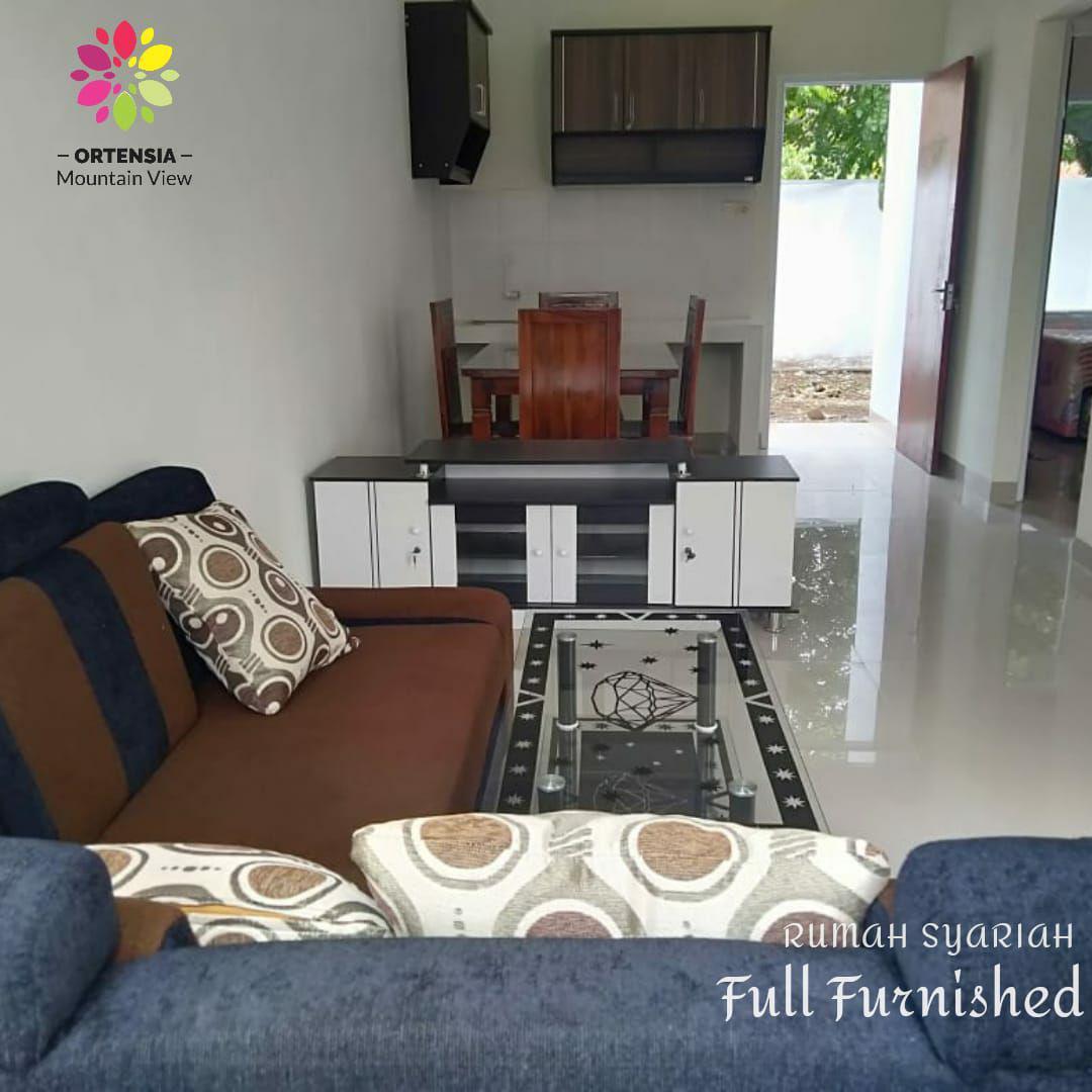 jual rumah syariah full furnished