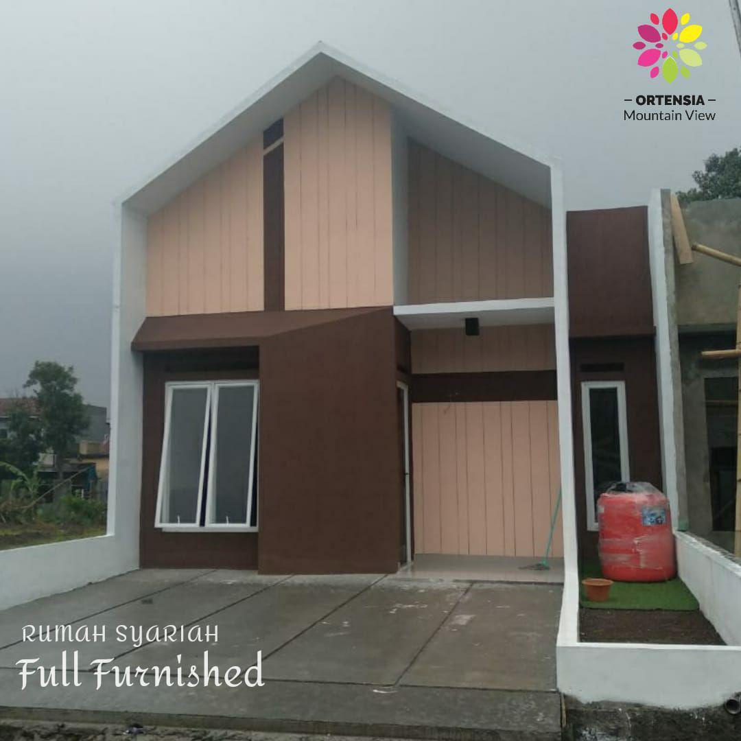rumah syariah full furnished