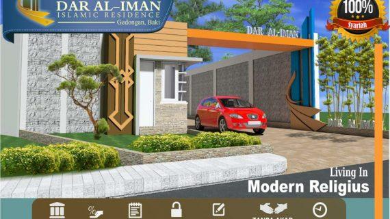 Rumah Syariah Solo – Dar Al Iman Islamic Residence