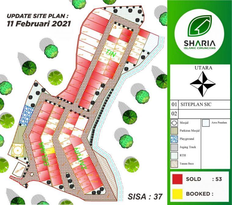 siteplan sharia islamic cimuncang