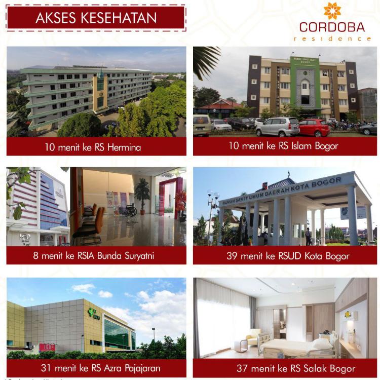 akses kesehatan cordoba residence