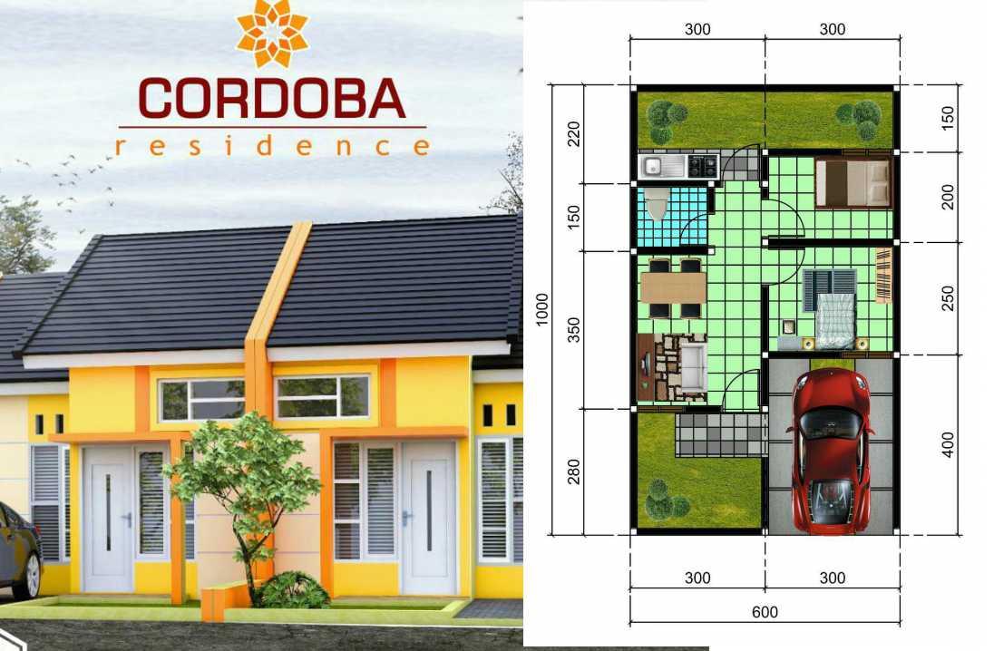 denah cordoba residence