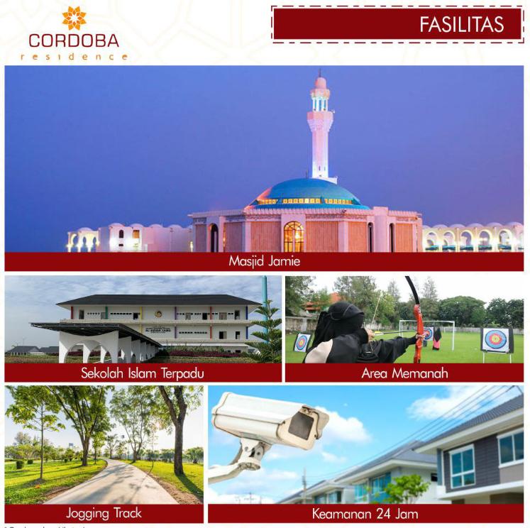 fasilitas lokasi cordoba residence