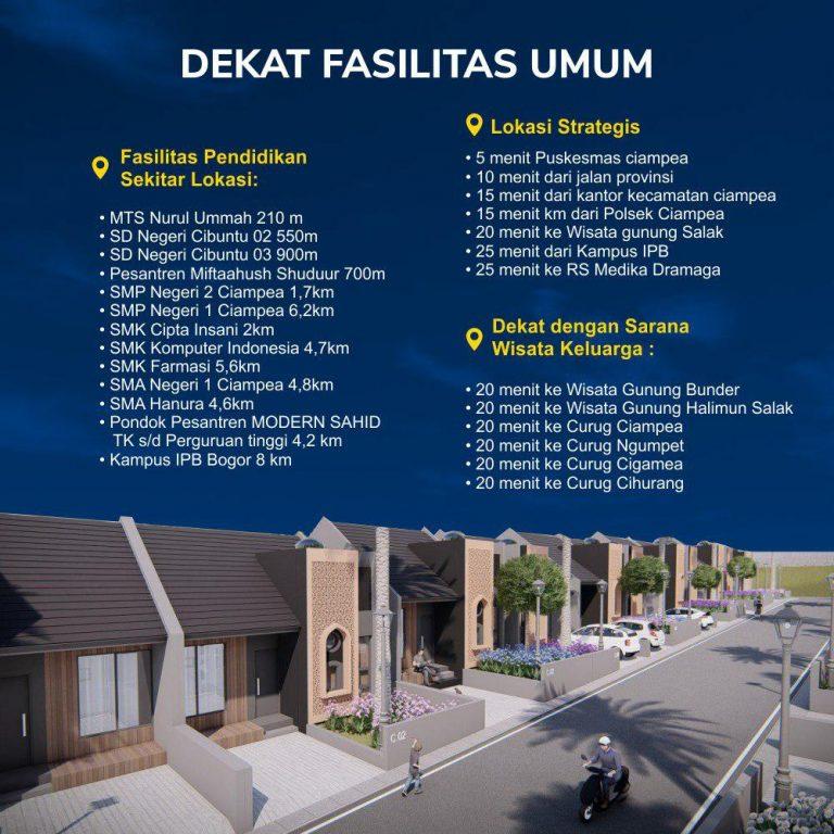 lokasi strategis rumah syariah bogor