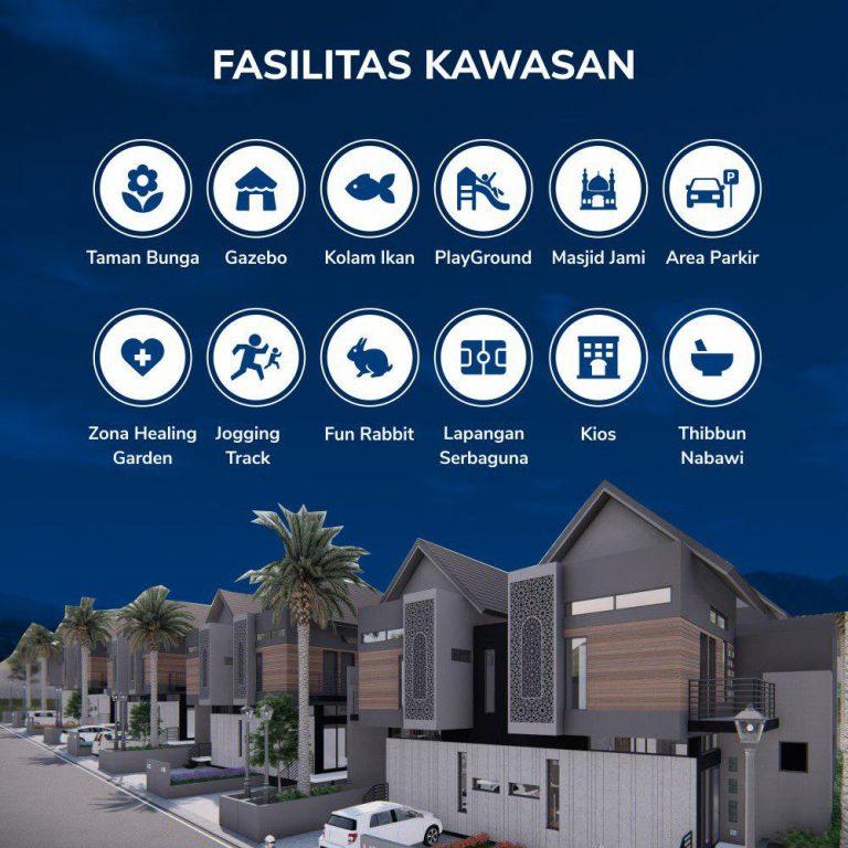 fasilitas kawasan islami di pedesaan