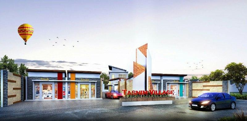 Rumah Syariah Bogor-TAsnim Village-desain depan