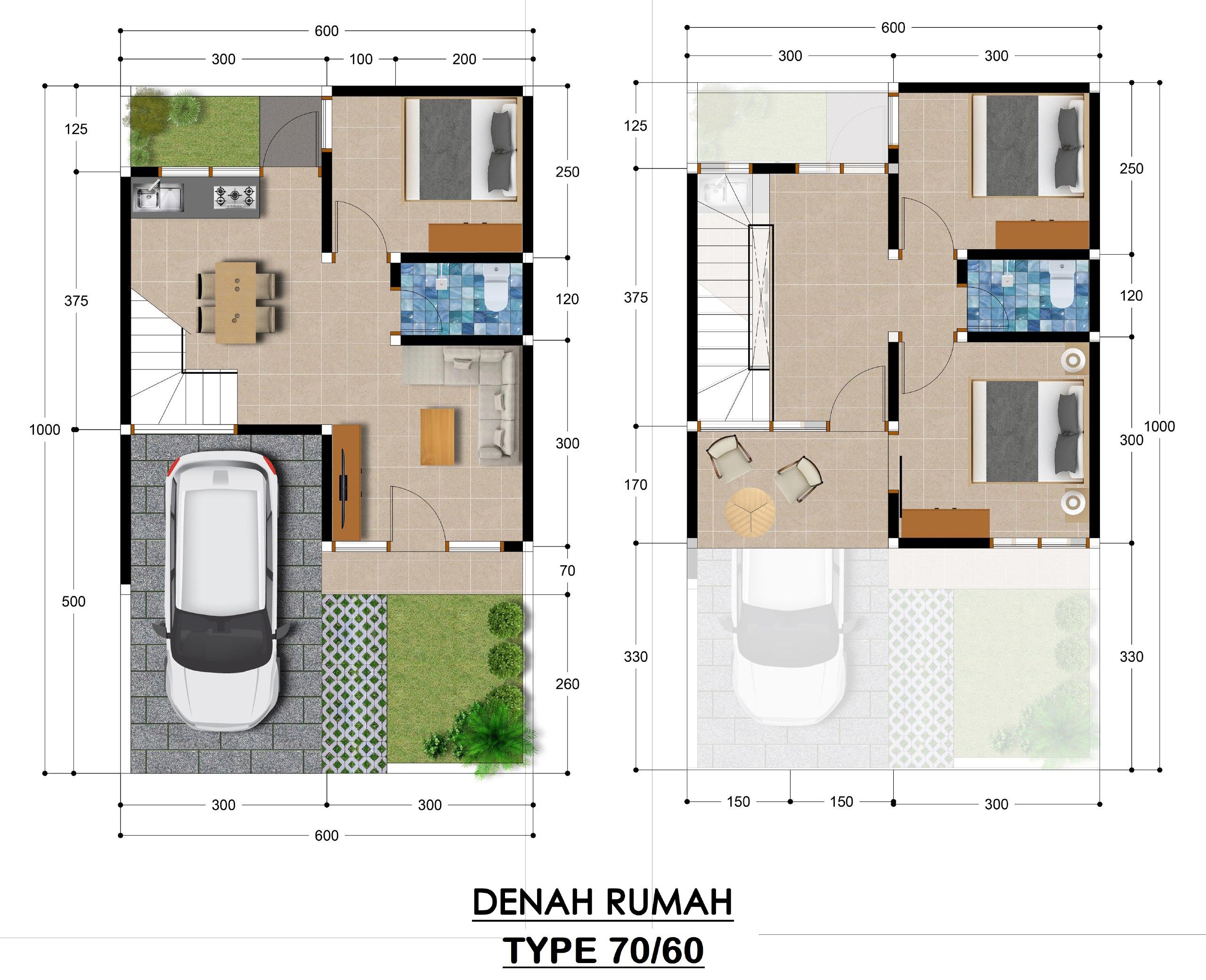 rumah syariah tangerang type 70-60