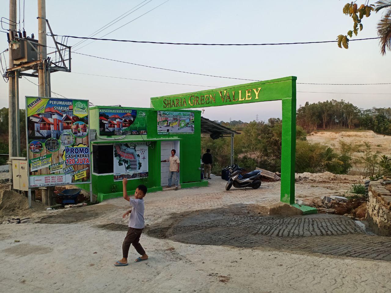 sharia green valley gerbang