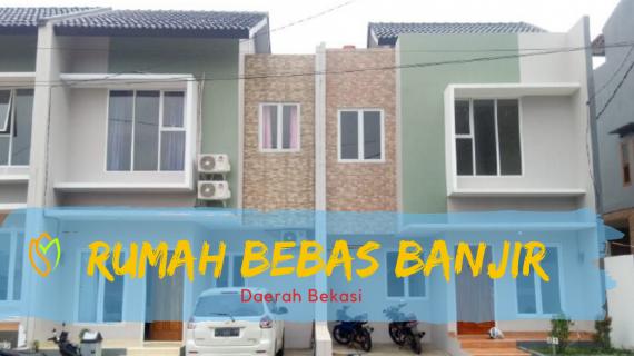 Rumah Bebas Banjir Di Bekasi, Lokasi Strategis