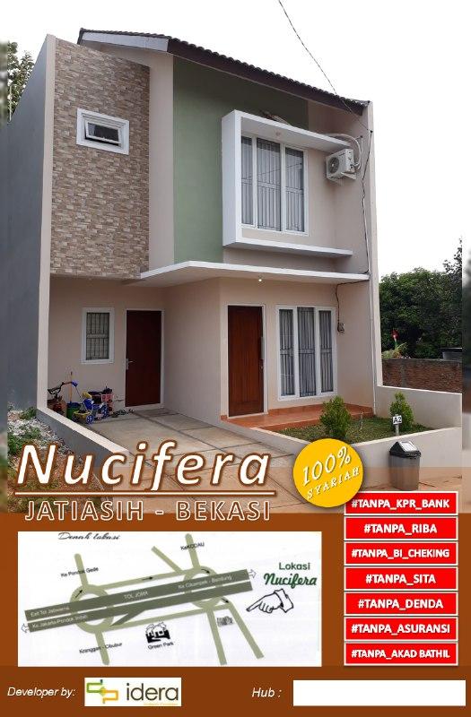 Rumah bebas banjir-Rumah 2 Lantai di Bekasi-Nucivera Residence-cover