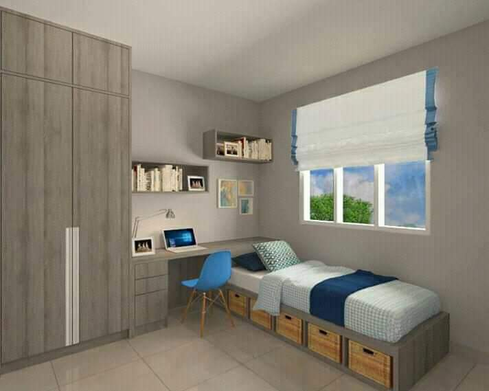 Rumah di Kota Makassar-siap huni-kamar anak