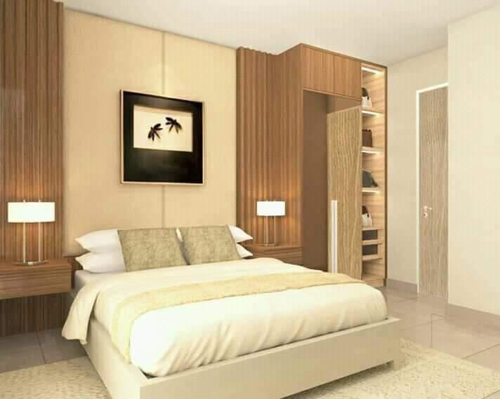 Rumah di Kota Makassar-siap huni-ruang tidur