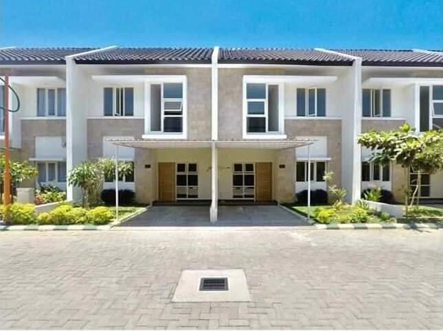 Rumah di Kota Makassar-siap huni-tampak depan