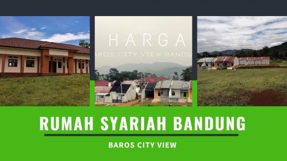 Baros City View-Rumah Syariah Bandung Terbangun Tahap 3