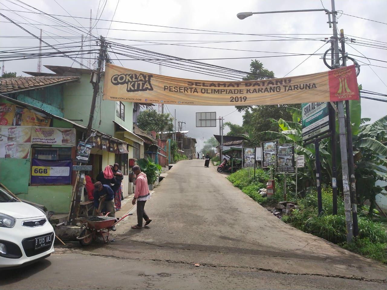 akses nouka village lembang