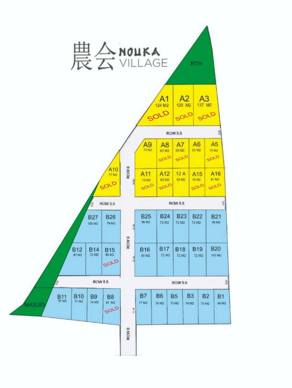siteplan nouka village