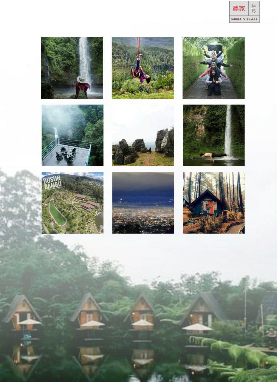 wisata sekitar nouka village