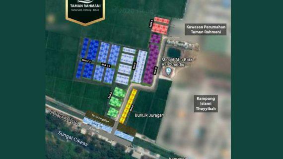 Kavling Siap Bangun Taman Rahmani di Cibitung Bekasi