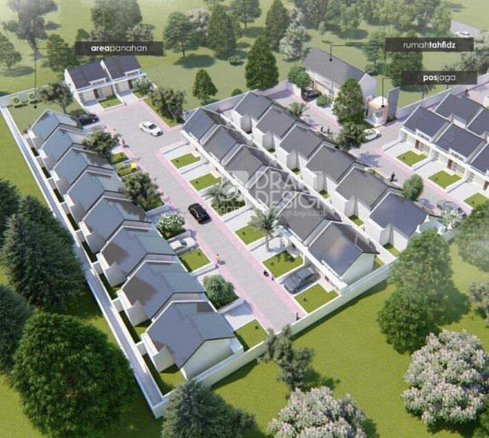 siteplan mahoni residence berau kalimantan