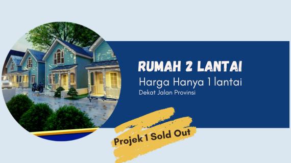 Rumah di Bogor 2 Lantai 200 Jutaan – Guesthouse Regency Flipro