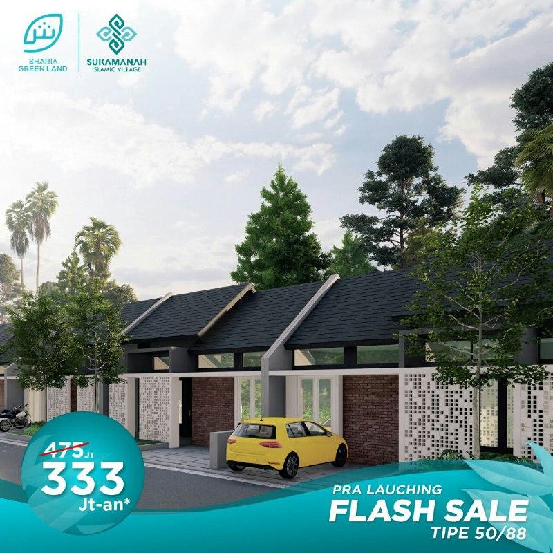 rumah type 50-88 sukamanah islamic village