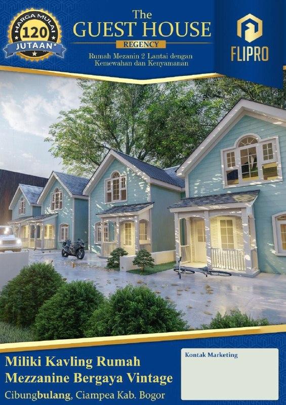 rumah di bogor-the guest house regency-rumah minimalis Bogor-9