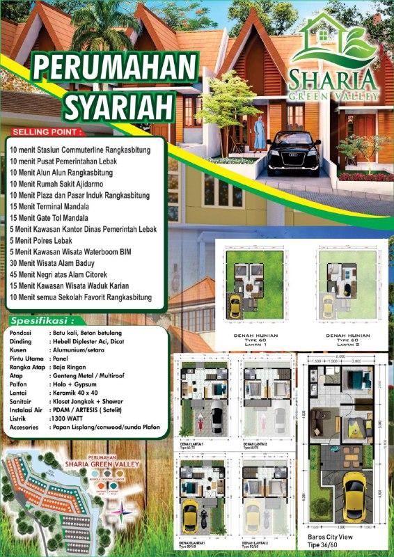 Sharia Green Valley – Rumah Syariah di Rangkasbitung Lebak Banten 18