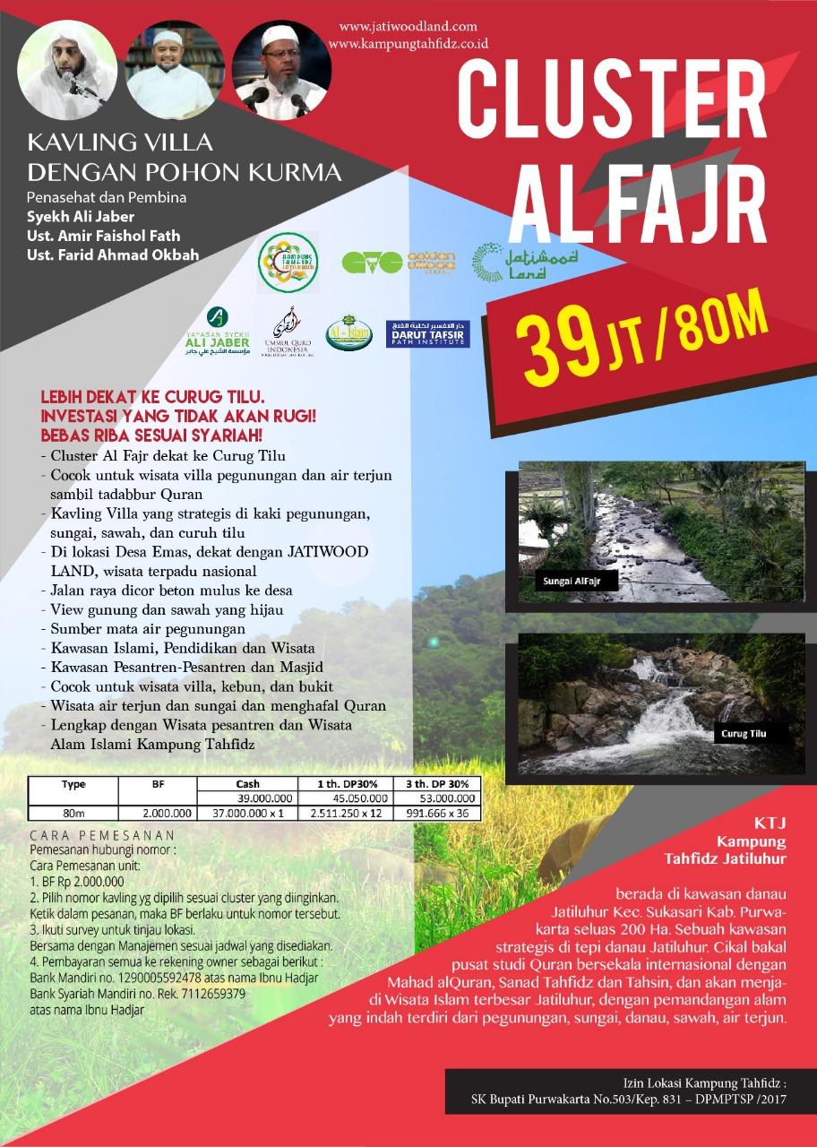 Promo Kampung Tahfidz Jatiluhur – Kavling Produktif di Kawasan Wisata Waduk Jatiluhur 10