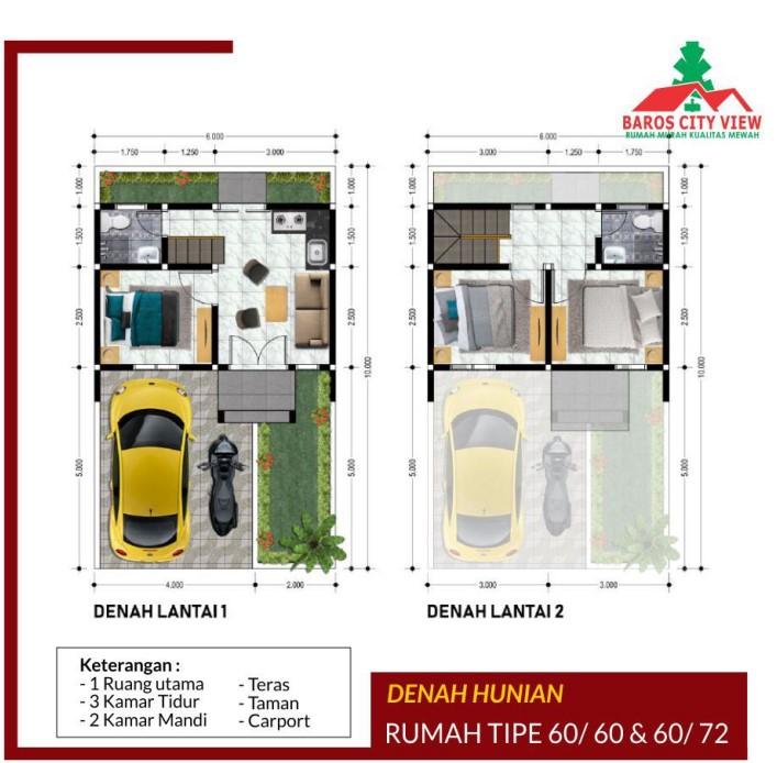 Baros City View Bandung – Hunian Syariah Termurah di Bandung Selatan 10