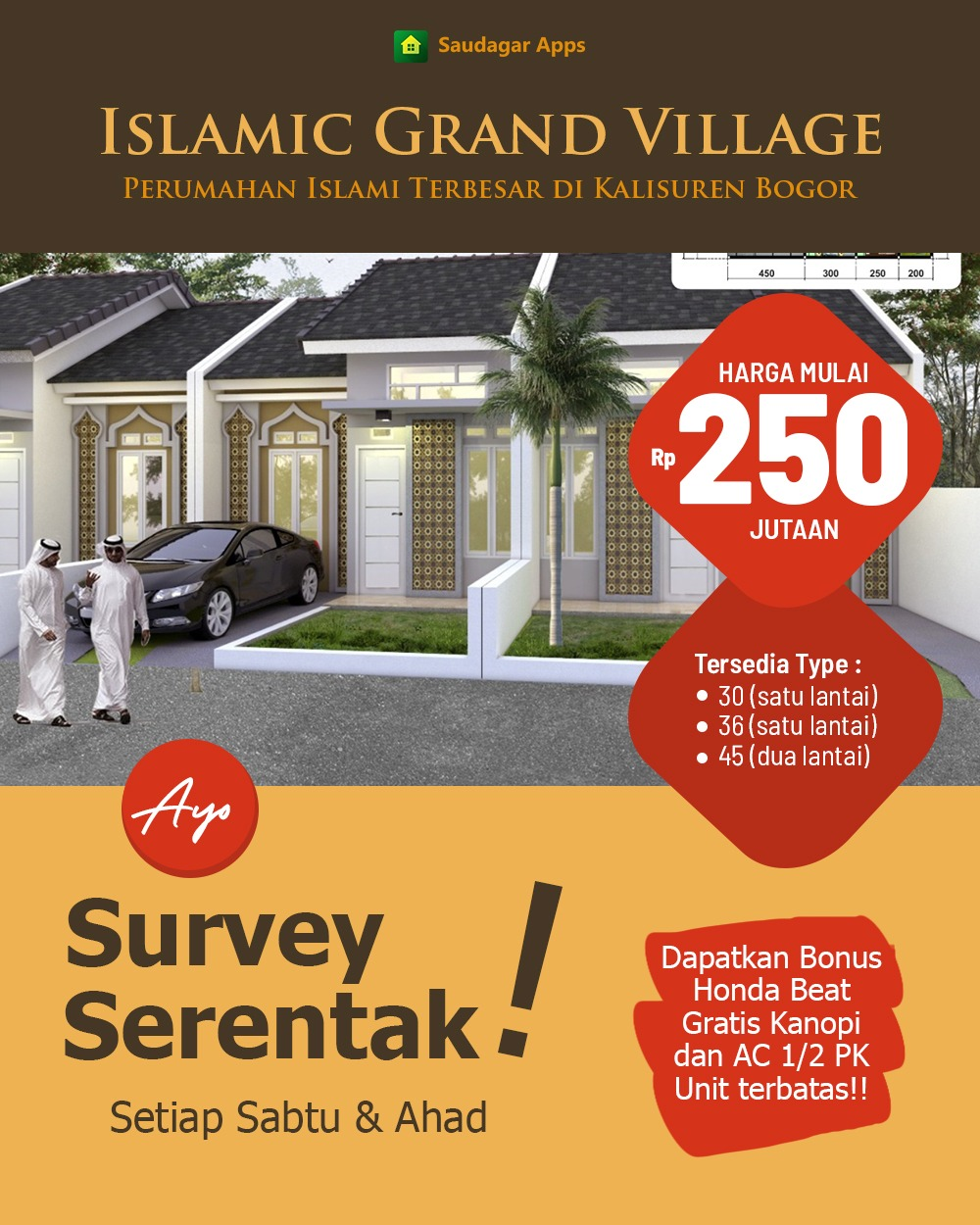 Islamic Grand Village Kalisuren Bogor 9