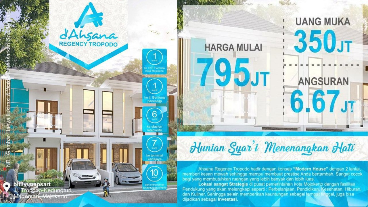 Ahsana Regency Tropodo-Rumah Syariah Mojokerto Jawa Timur 7