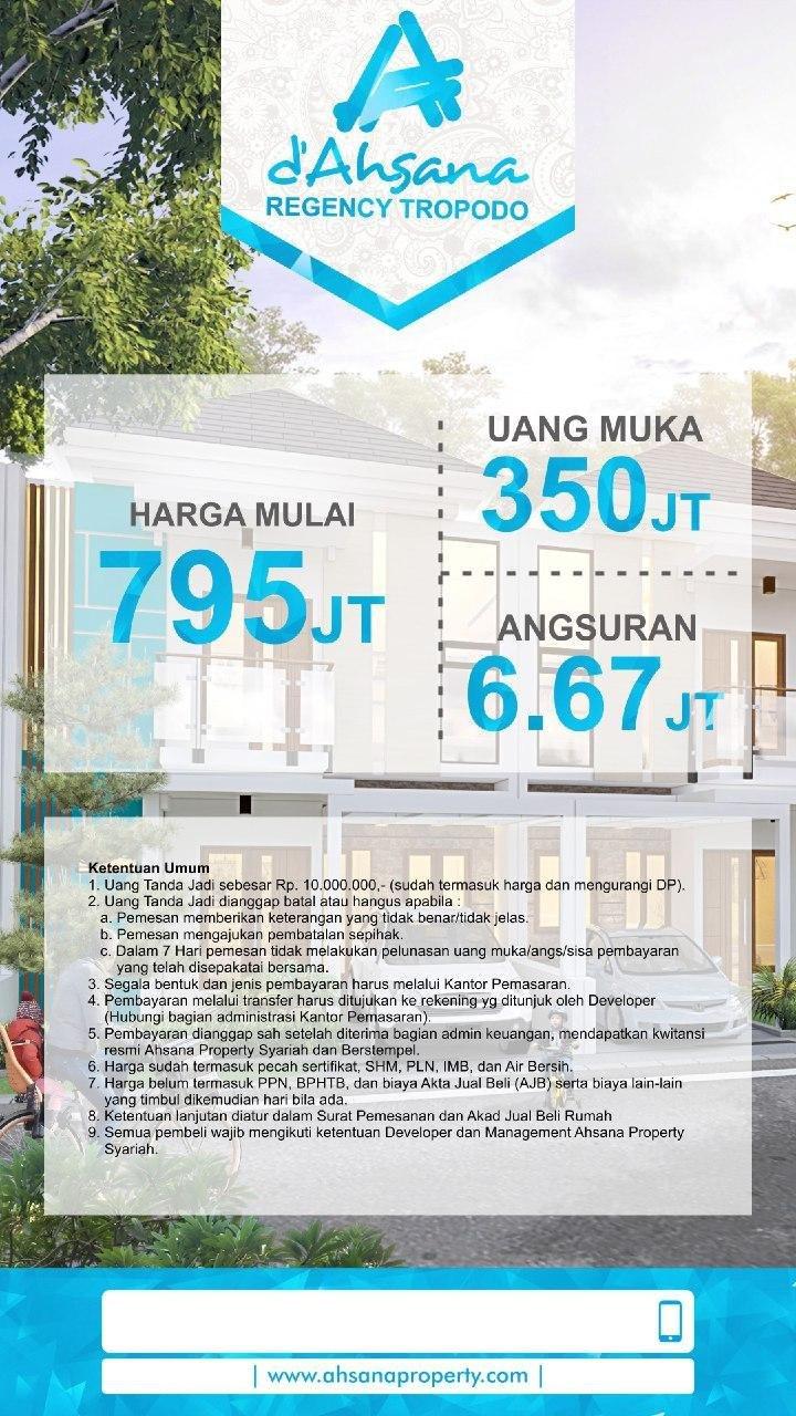 Ahsana Regency Tropodo-Rumah Syariah Mojokerto Jawa Timur 8
