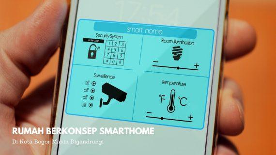 Rumah Berkonsep Smarthome di Kota Bogor Makin Digandrungi