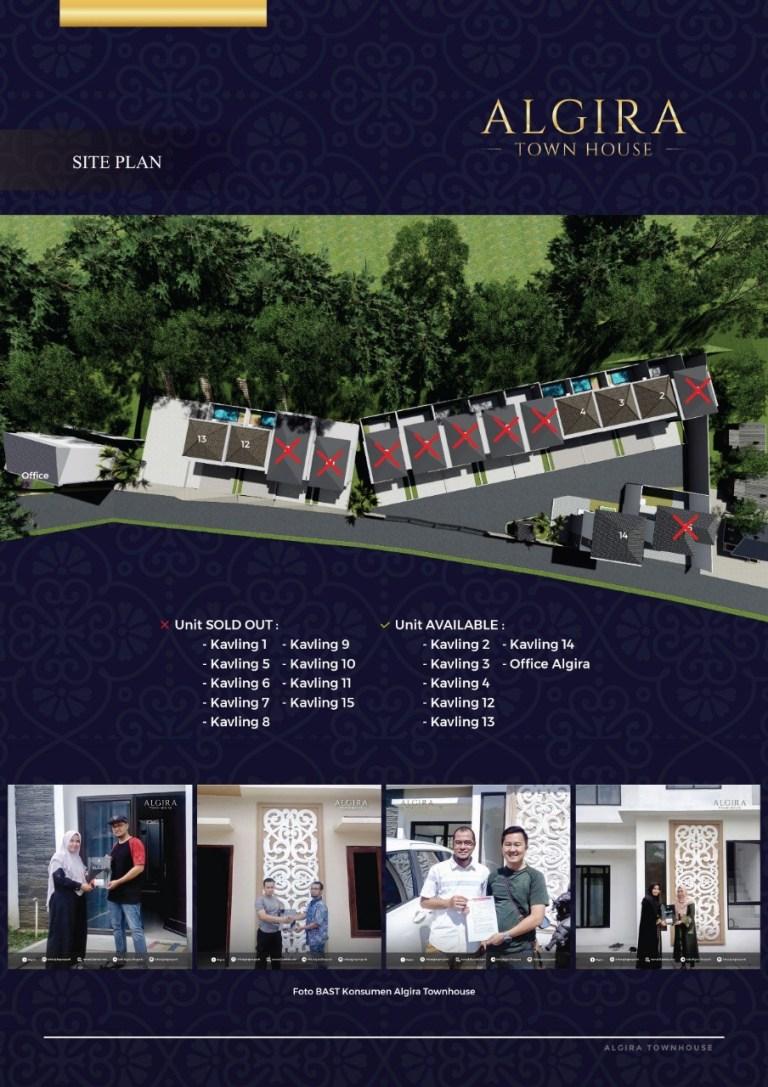 siteplan algira townhouse
