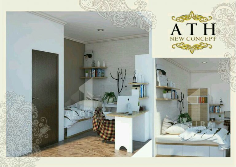 algira townhouse new konsep
