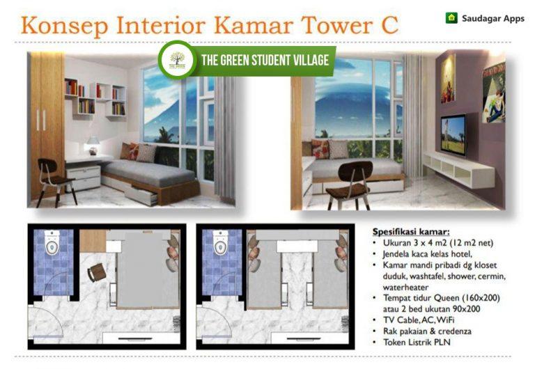 The Green Student Village – Apartemen Kost Syariah Dengan Nuansa Villa Dekat IPB 5
