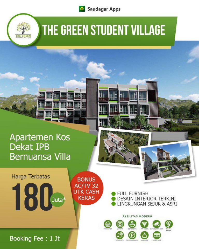The Green Student Village – Apartemen Kost Syariah Dengan Nuansa Villa Dekat IPB 2